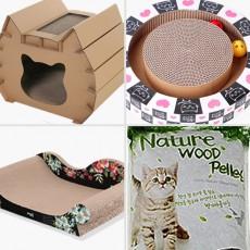 고양이용품 모래 스크래처 필라인하우스 장난감